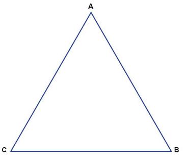 ماذا تساوي قيمة س في المثلث المجاور