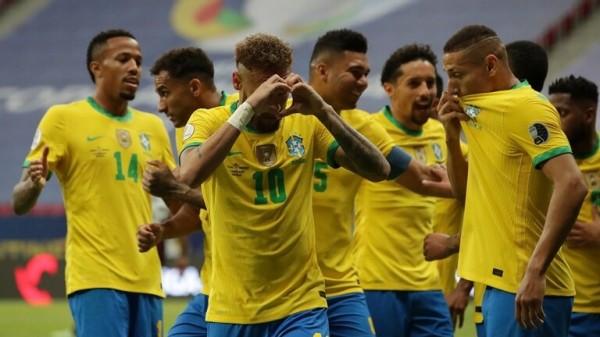 """شاهد اهداف المبارة الافتتاحية من بطولة """"كوبا أمريكا"""" البرازيل وفنزويلا"""