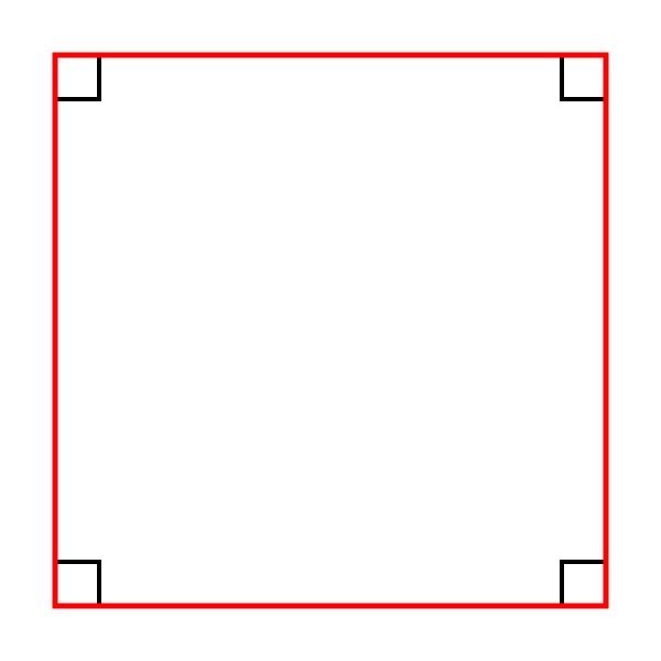 إذا كان الشكل الرباعي مستطيلًا ومعينًا ، فهو مربع ، صحيح أو خطأ
