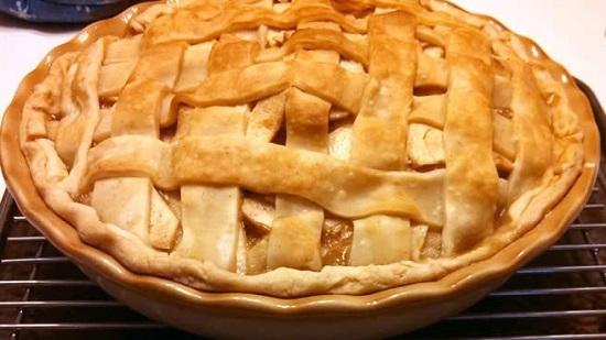 كيف تصنع فطيرة التفاح