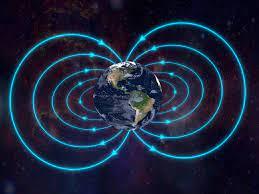 إنها المنطقة المحيطة بالأرض التي تتأثر بمجالها المغناطيسي