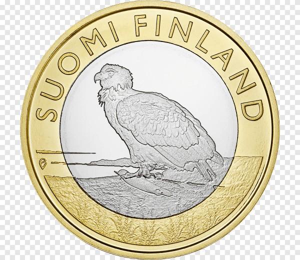 ما هو الطائر الموجود على عملة اليورو الواحدة لفنلندا