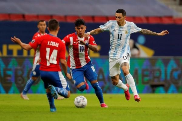 نتيجة مباراة منتخب الارجنتين وباراغواي