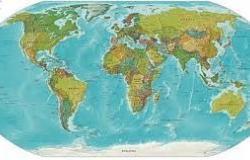 الخريطة هي عبارة عن رسم توضيحي لسطح الأرض أو جزء منها