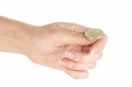 المخرجات الممكنة عند رمي قطعة نقود مرة واحدة