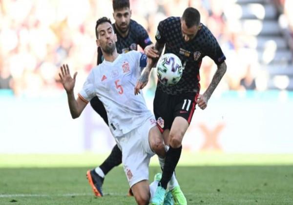 ملخص مباراة إسبانيا وكرواتيا في يورو 2020 بالأهداف