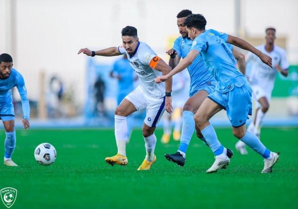 نتيجة مباراة الباطن ضد الهلال في بطولة الدوري السعودي اليوم