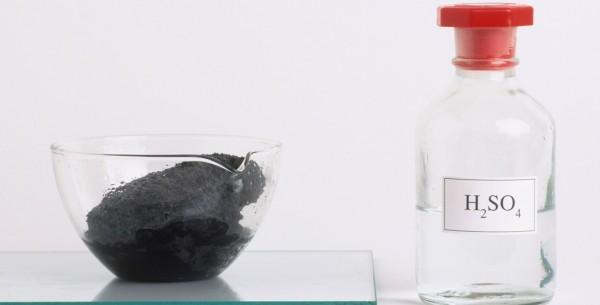 يستخدم حامض الكبريتيك لإذابة النحاس وصهره صح أم خطأ