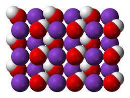 ما هو الاسم الشائع لهيدروكسيد البوتاسيوم