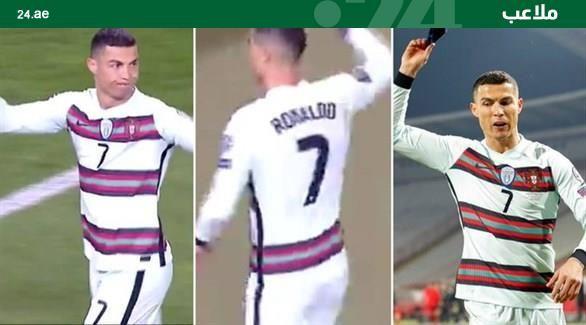 ماذا علق رونالدو على سلوكه الغريب بعد مباراة البرتغال وصربيا