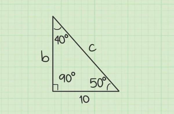 أي من مجموعات الأطوال التالية تشكل أطوال أضلاع المثلثات القائمة