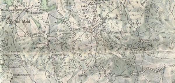 الخريطة الطبوغرافية هي توضيح وتفصيل لمنطقة محدودة من سطح الأرض