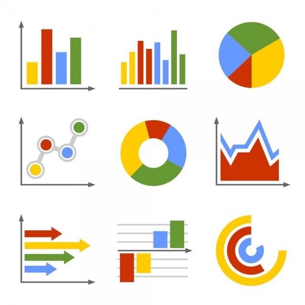 المخططات هي من أنواع البيانات