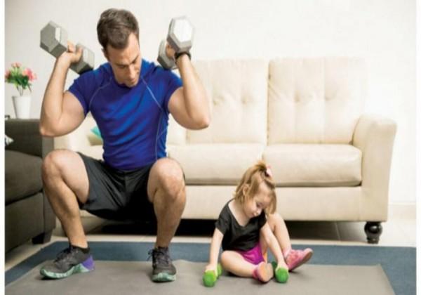 بعض التمارين المفيدة يمكن تأديتها في المنزل