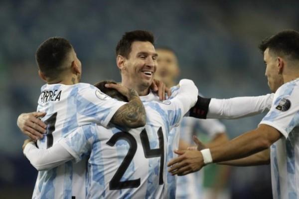 نتيجة مباراة الأرجنتين ضد بوليفيا في مجموعات كوبا أمريكا