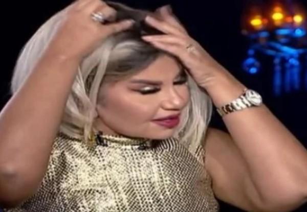 شاهد الإعلامية بوسى شلبى تخلع الباروكة على الهواء