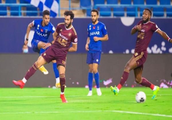 نتيجة مباراة الهلال والفيصلي في بطولة الدوري السعودي 2021