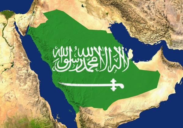 ما هو ترتيب السعودية بين الدول العربية من حيث المساحة
