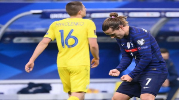 نتيجة مباراة منتخب فرنسا أمام أوكرانيا
