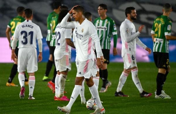 نتيجة مباراة ريال بيتيس ضد ريال مدريد في الدوري الاسباني