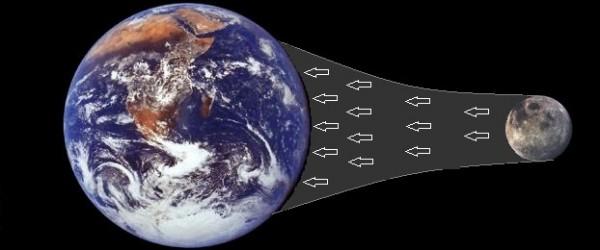 أي مما يلي هو تابع طبيعي للأرض