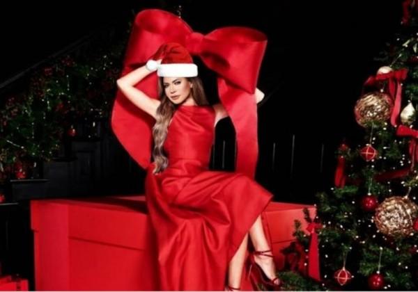 كيف احتفلت الفنانة نوال الزغبي بعيد الكريسماس Merry Christmas