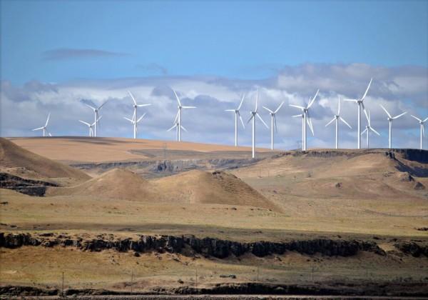تهب الرياح العالمية على مساحات واسعة