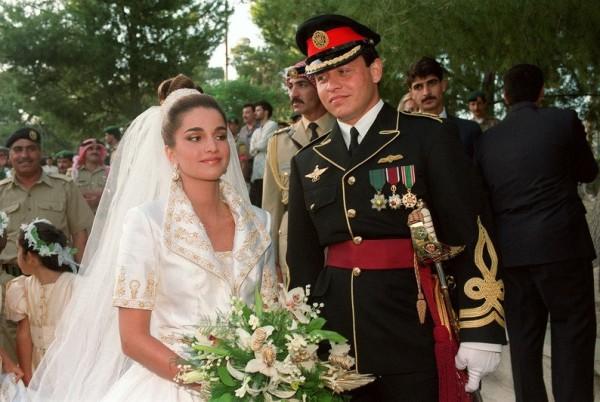 تعرف على قصة زواج الملك عبدالله والملكة رانيا