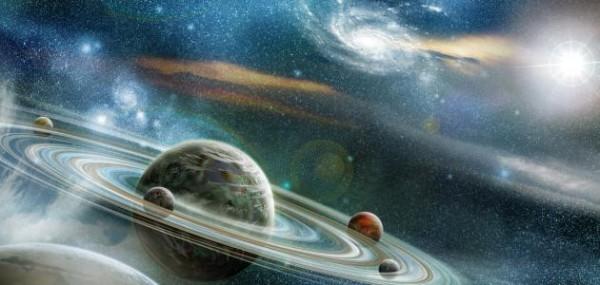 """ما المقصود بالمصطلح التالي :""""كل ما يحيط بنا بما في ذلك النجوم والمجرات والكائنات الحية"""""""