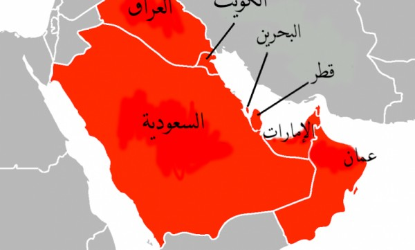 تقع دول مجلس التعاون لدول الخليج العربية في قارة