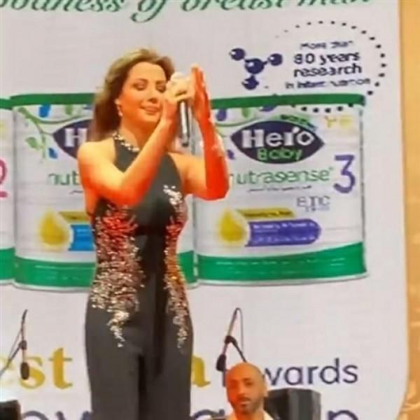 شاهد الفنانة نانسي عجرم تحيي حفلاً غنائياً في قصر عابدين بالقاهرة