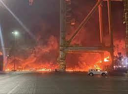 تصريحات قائد شرطة دبي بخصوص تفاصيل انفجار ميناء جبل علي