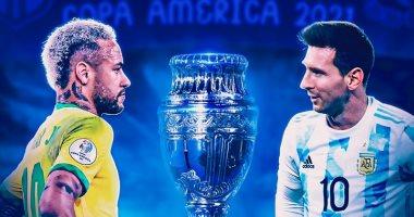 موعد موعد نهائي كوبا أمريكا 2021 بين البرازيل والأرجنتين