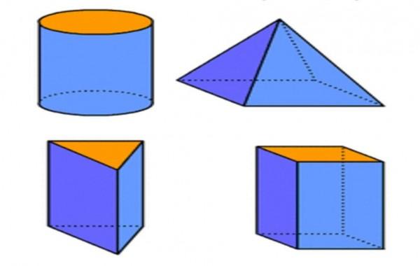 يسمى الشكل الذي له الطول والعرض والارتفاع