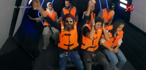 محمد هاني يقع في فخ رامز عقله طار