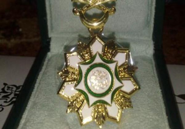 وسام الملك عبد الله رحمه الله من أوسمة الدرجة الثالثة