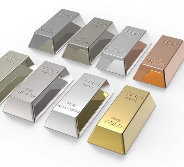 عناصر لها بريق معدني