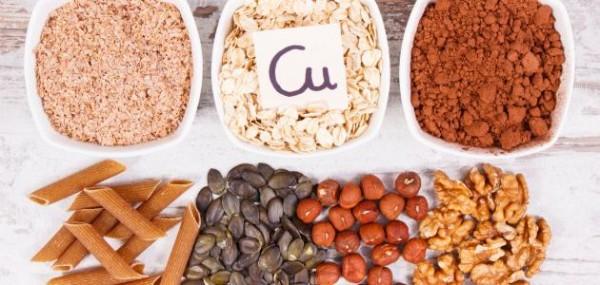 ما هي الأغذية التى تحتوي على عنصر النحاس