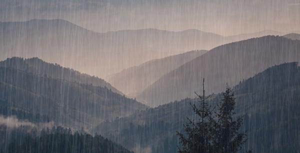 المناطق الجبلية تمطر أكثر من المناطق العادية