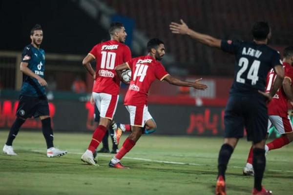 ملخص مباراة الأهلي وسموحة في الدوري المصري 2021